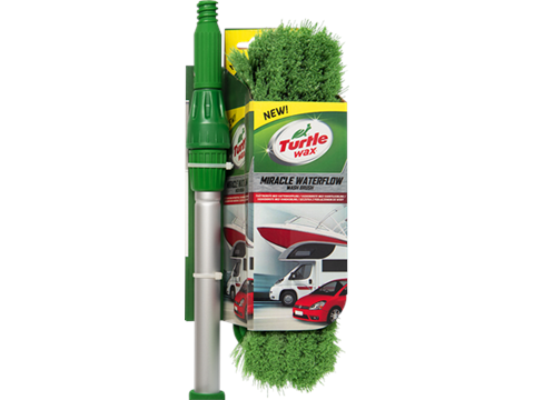 TURTLE WAX MIRACLE WATERFLOW WASH BRUSH