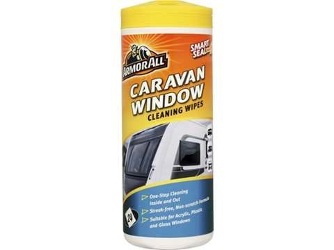 ARMOR ALL CARAVAN WINDOW CLEANING WIPES