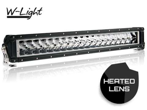 W-LIGHT SNOWSTORM LED-RAMP MED VÄRME 12/24V 140W 563mm